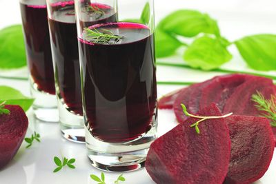 Beet Juice Benefits red beet, may help to