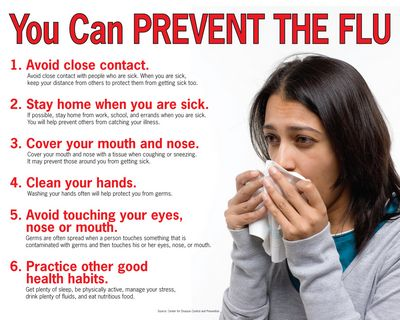 Flu Season Symptoms - Learn How to Stay Healthy During the Flu Season The virus can also be